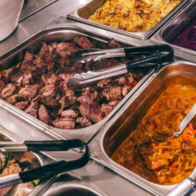 Buffet warme gerechten