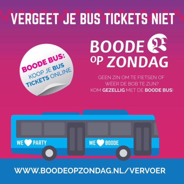 Boode bus