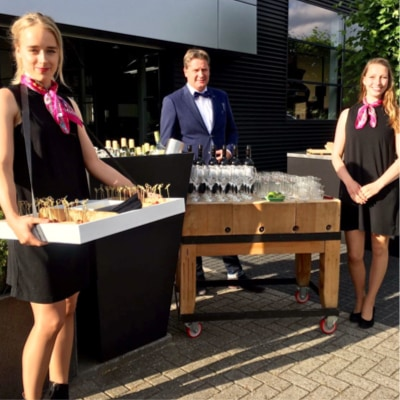 Catering borrel sfeer