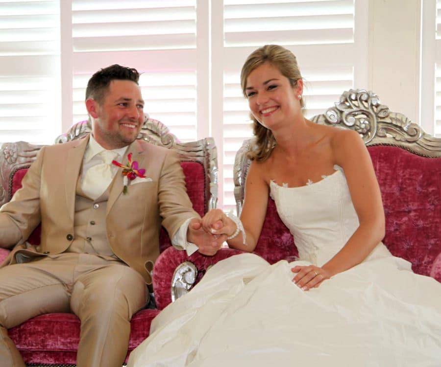 Bruidspaar trouwlocatie Overijssel
