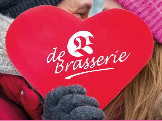 Valentijnsdag in de Brasserie