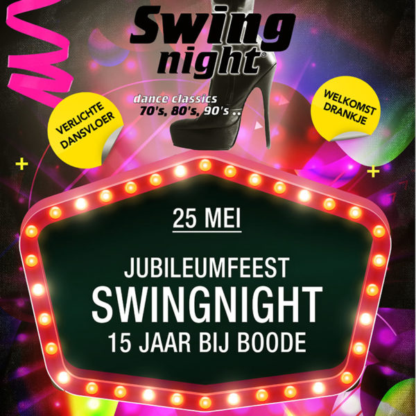 SwingNight 25 mei 2019
