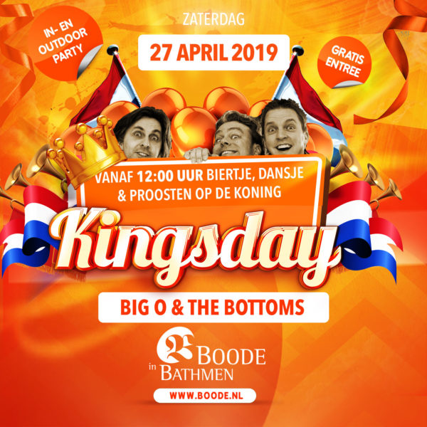 Koningsdag - Kingsday 2019 Bathmen
